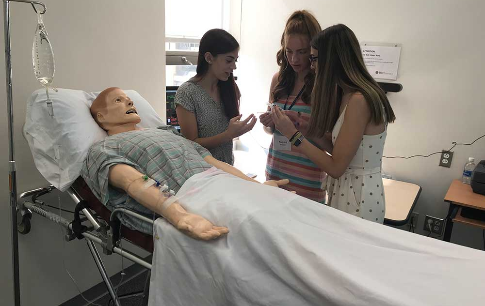 Campers deciding on what drug and dose should be delivered to their patient